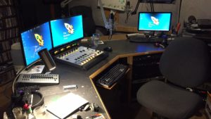 A view of the studio after the refurb.