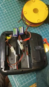 Gheem's original Estes Pro Series launch controller modified to use lipo batteries